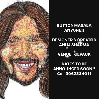 BUTTON MASALA WORKSHOP