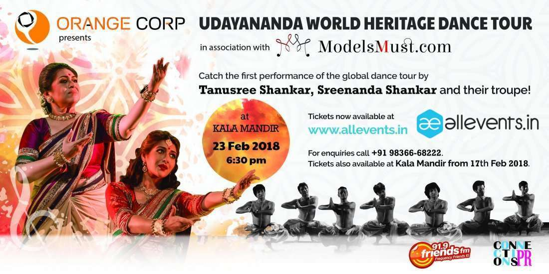 Udayananda World Heritage Dance Tour