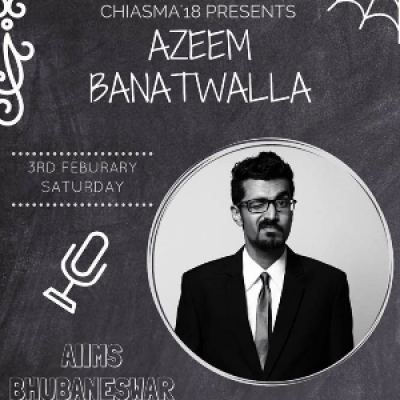 Azeem Banatwallas Stand up - Chiasma 2018 AIIMS