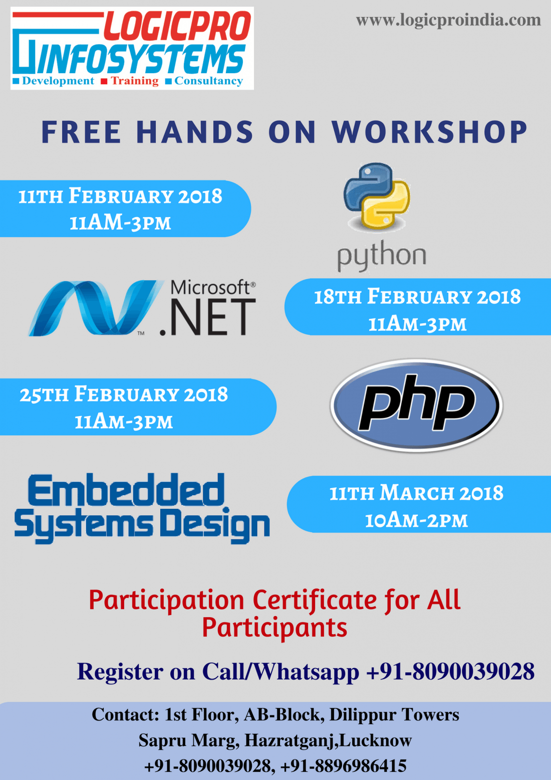 One Day free Workshop