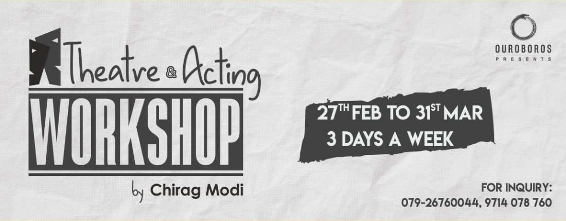 Acting and theatre workshop by Chirag modi