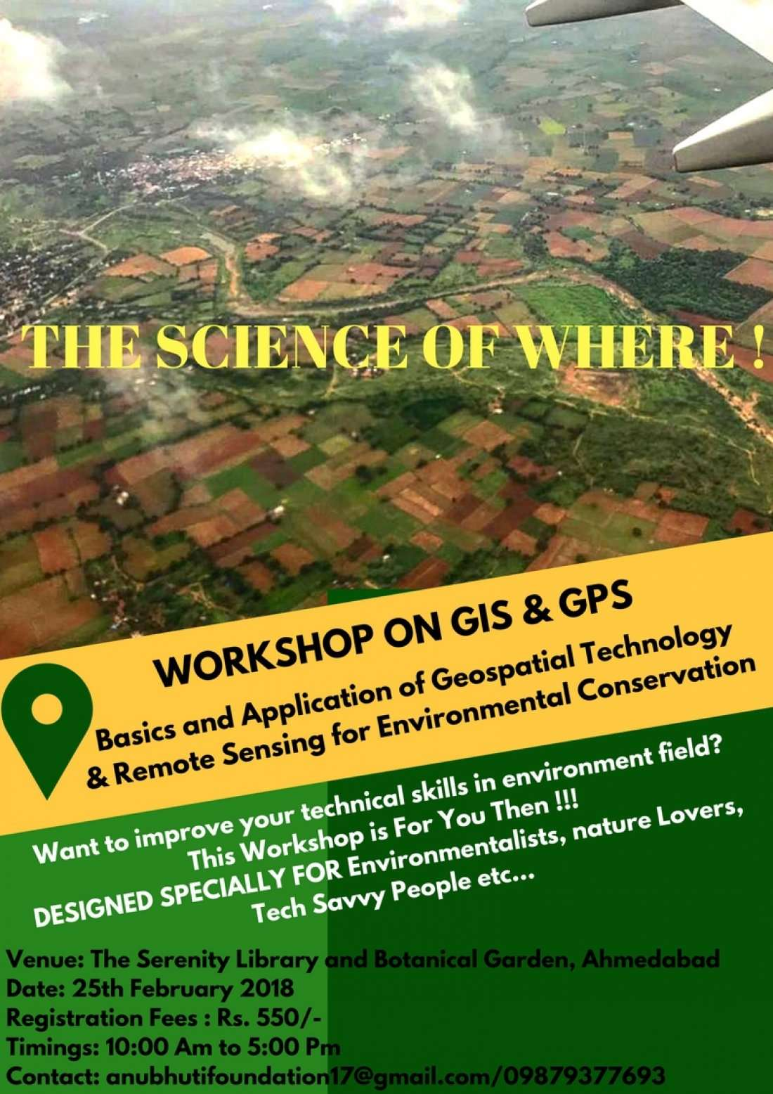 Workshop on GIS and GPS
