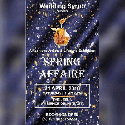 The Wedding Syrup &quot Spring Affair&quot...FashionJewel &amp Lifestyle Exhibition