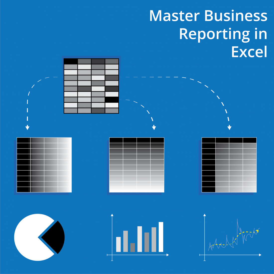 Master Business Reporting using Pivot tables and Charts in Excel