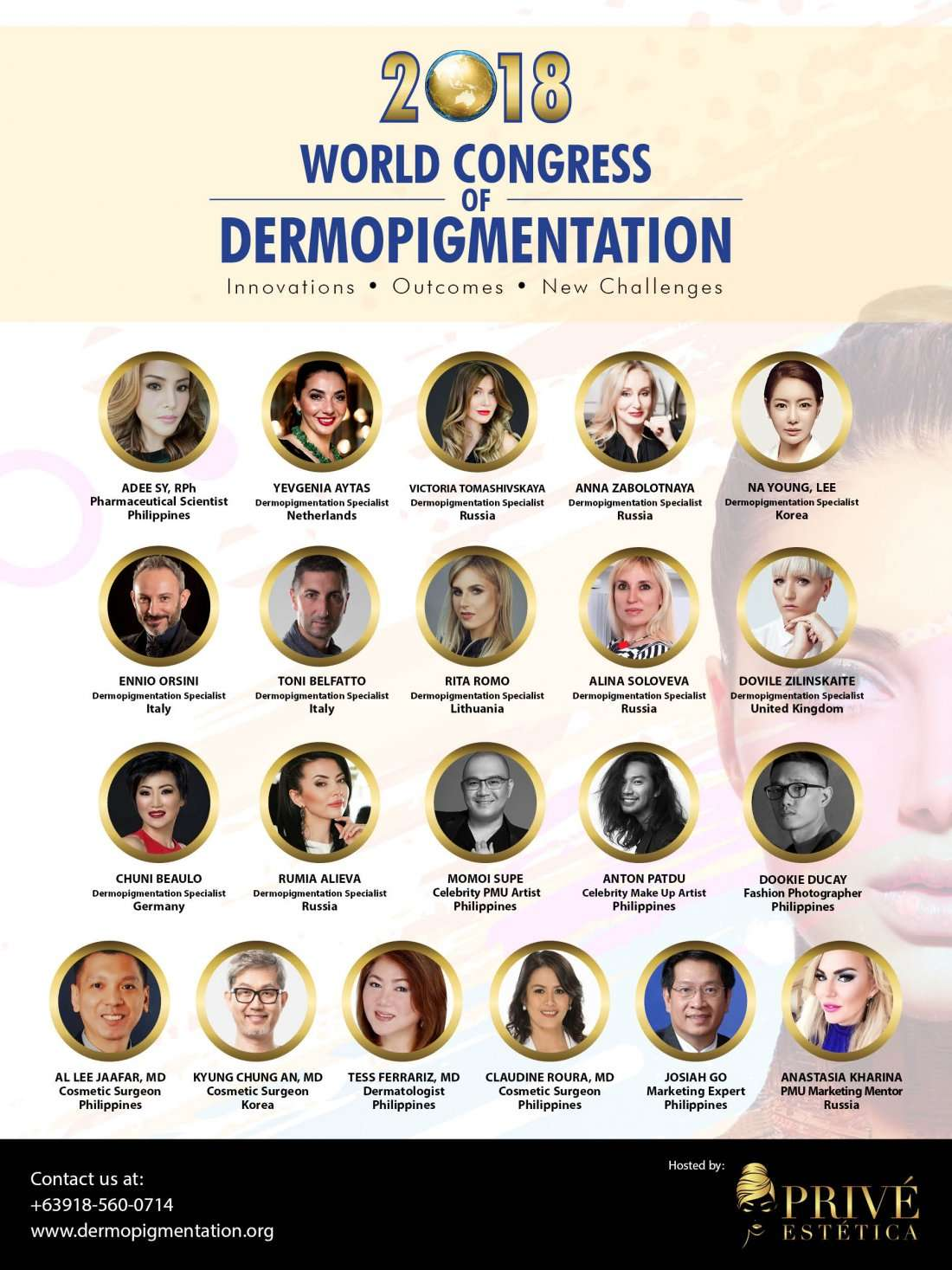 World Congress of Dermopigmentation 2018