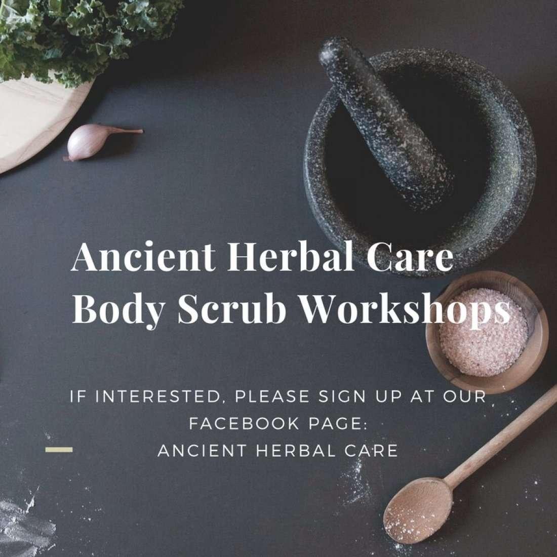 Body Scrub Workshop