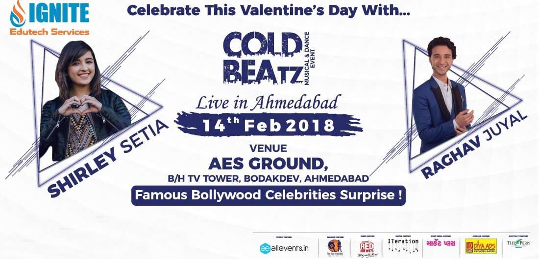 Shirley Setia and Raghav Juyal Live In Cold Beatz Musical Event
