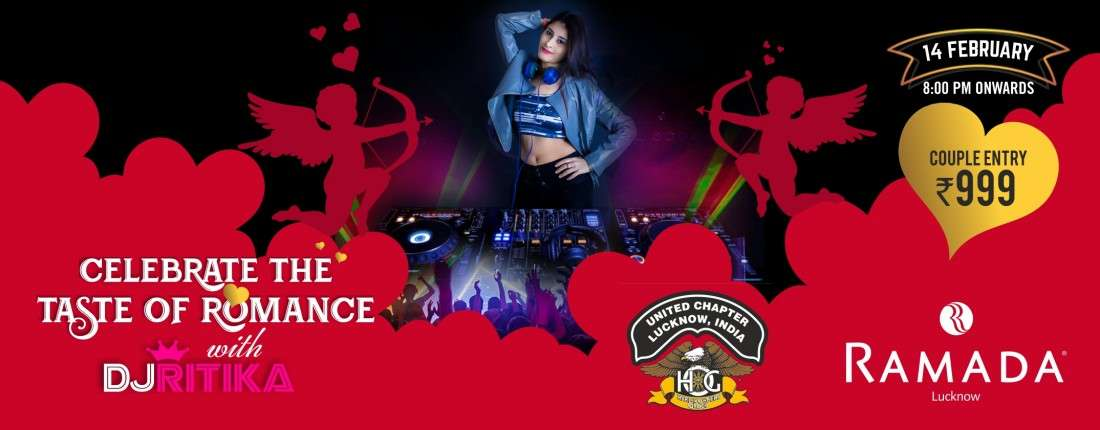 Lucknows Rockin & Romantic Valentines Day Party feat DJ Ritika