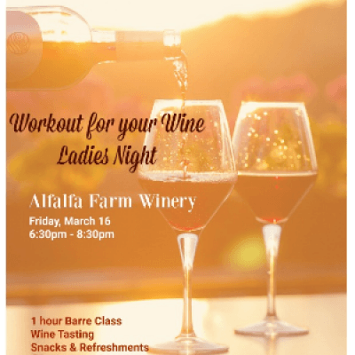 Workout for your Wine Ladies Night