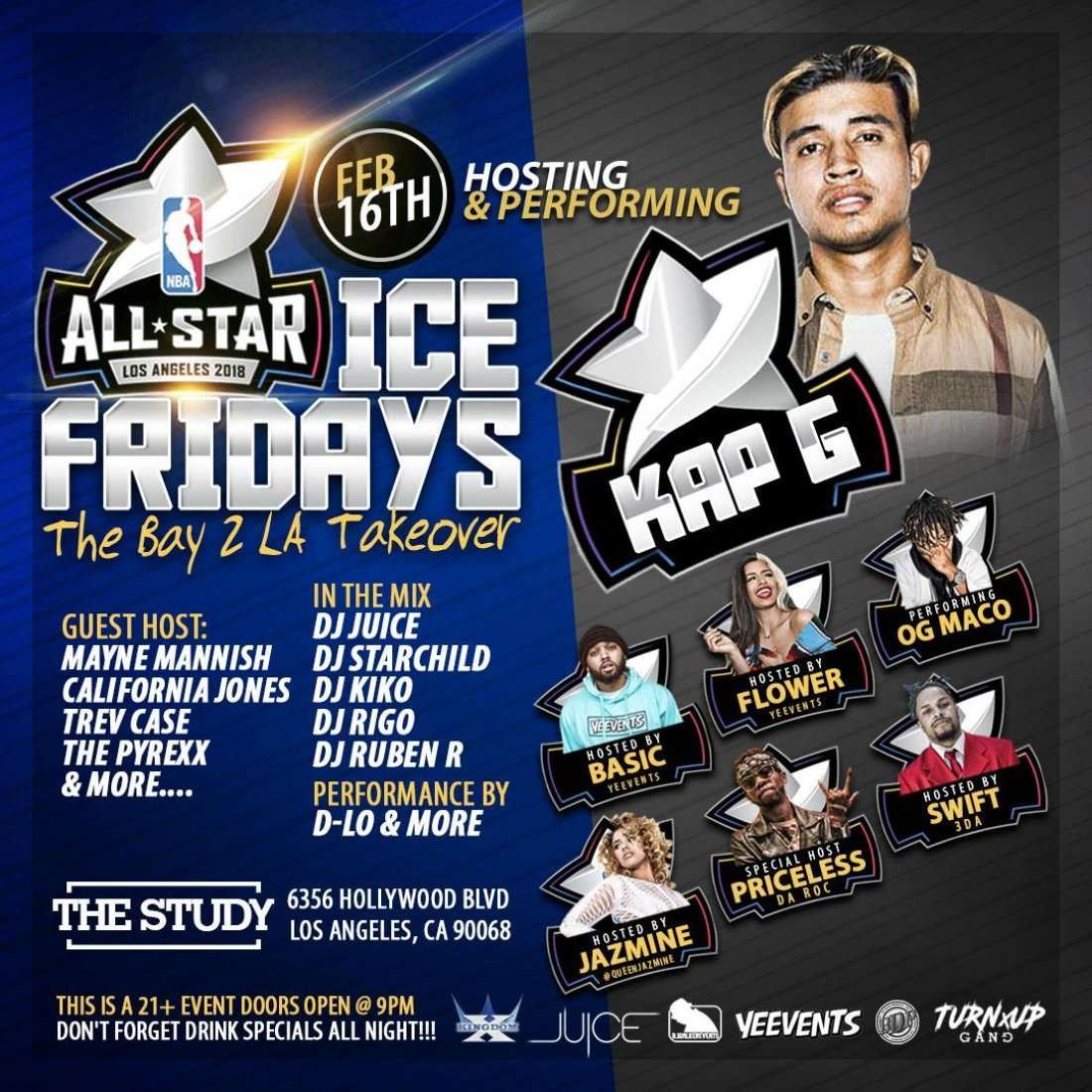 NBA Allstar Weekend Parties