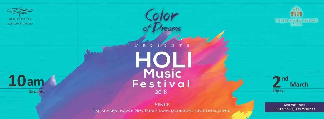 Color of Dreams - Holi Music Festival