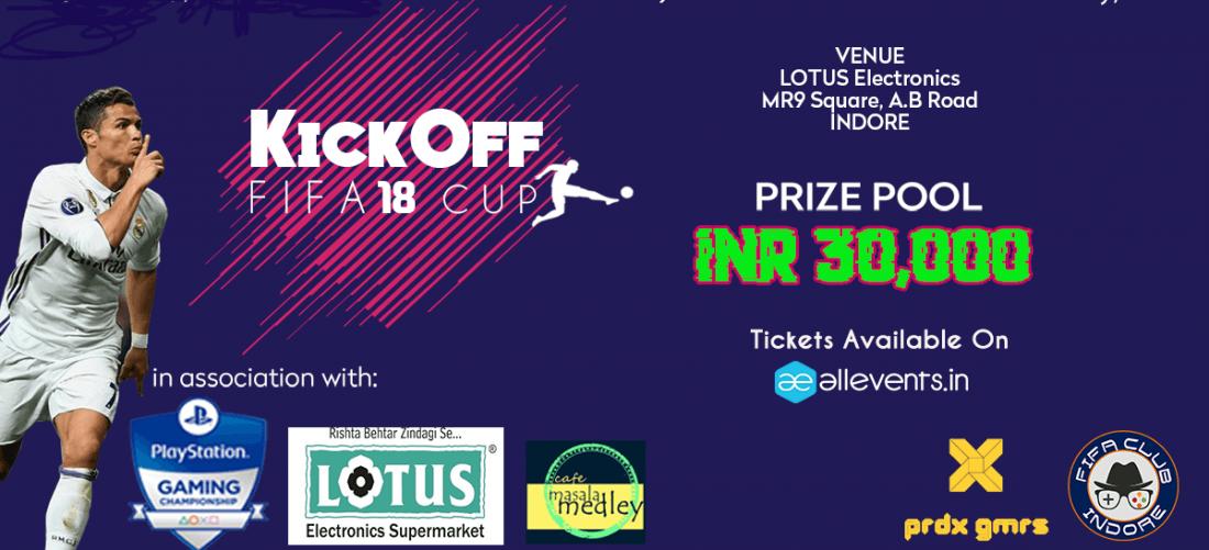 KickOff FIFA 18 Cup-Indore