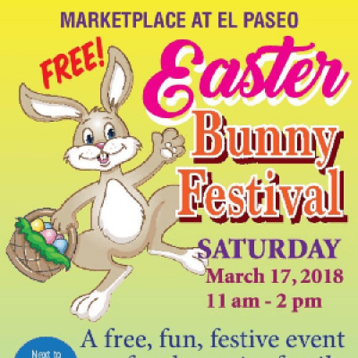Easter Bunny Festival at the Marketplace at El Paseo