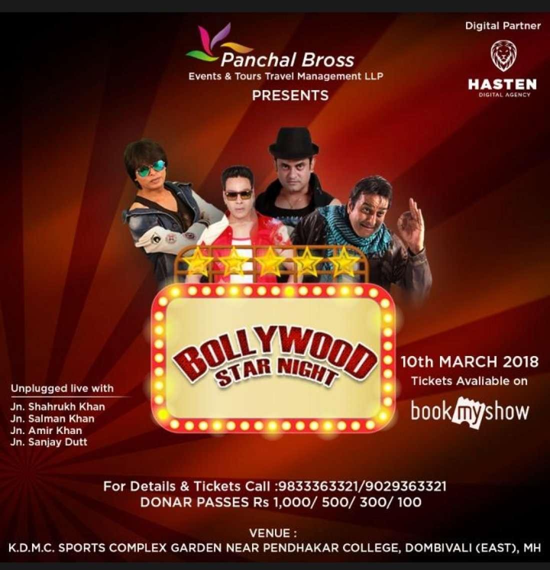 Bollywood Stars Night