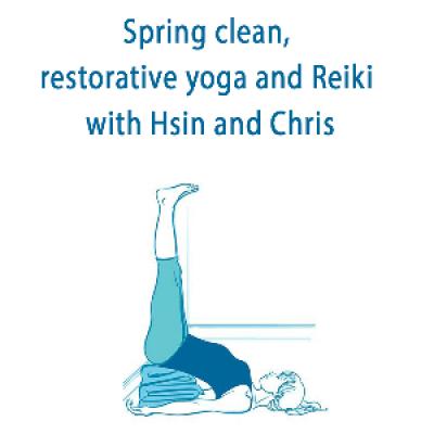 Spring Clean Restorative Yoga and Reiki Workshop