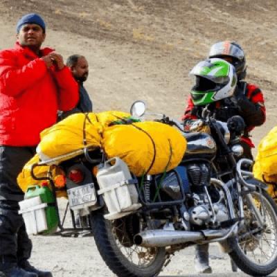 Leh Ladakh Enfield Riding Expedition