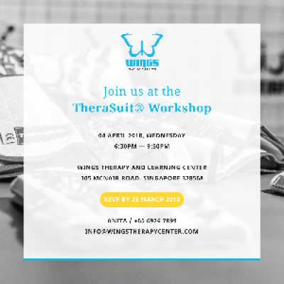 Singapores First TheraSuit Workshop at WINGS Therapy and Learning Center