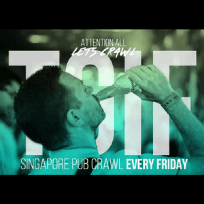 Singapore Pub Crawl - Friday