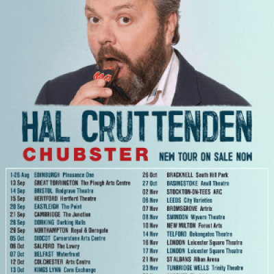 Hal Cruttenden Chubster UK Tour 2018