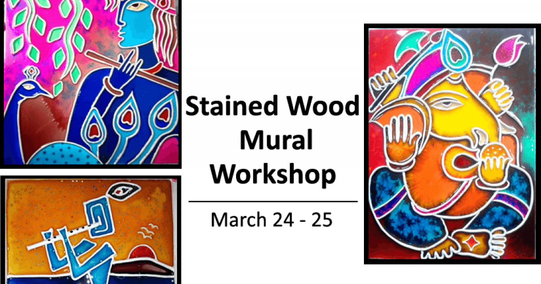 Stained Wood Mural Workshop
