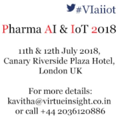Pharma AI &amp IoT 2018