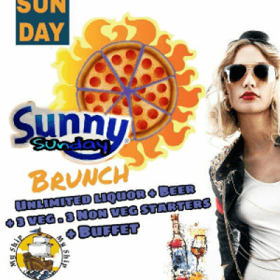Sunny Brunch Every Sunday Afternoon