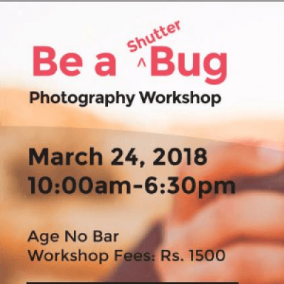 Be a Shutterbug - Photography Workshop