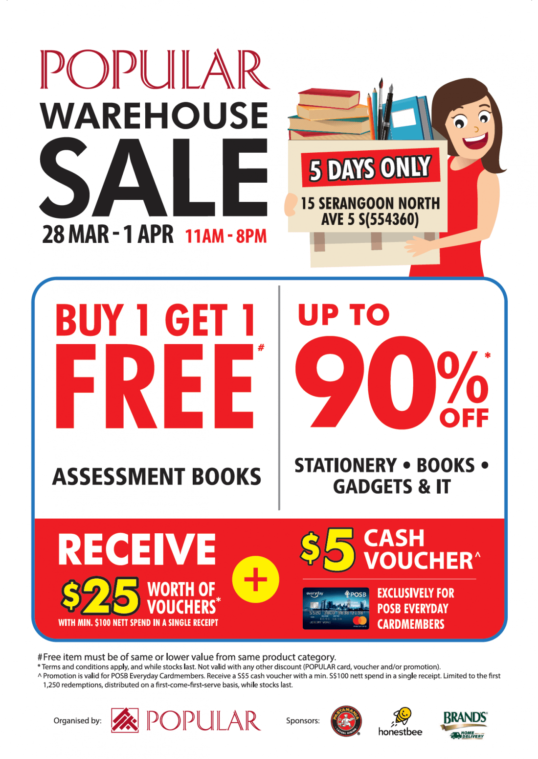 POPULAR Warehouse Sale