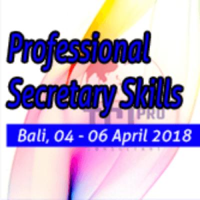 Professional Secretary Skills Training