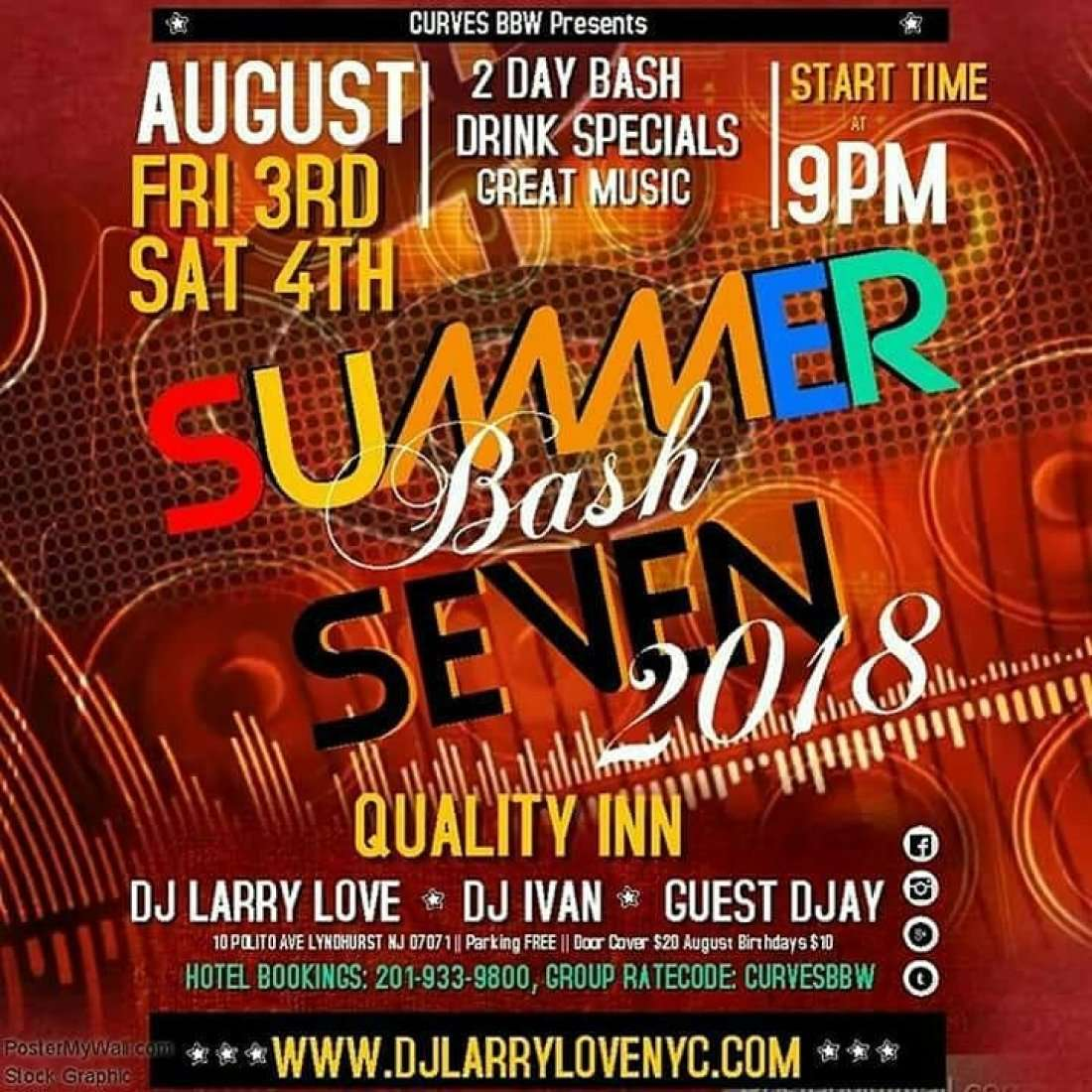 Curves BBW Presents Summer Bash 7