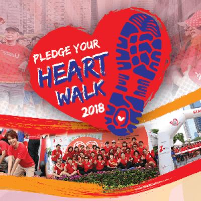 Singapore Heart Foundations Pledge Your Heart Walk 2018
