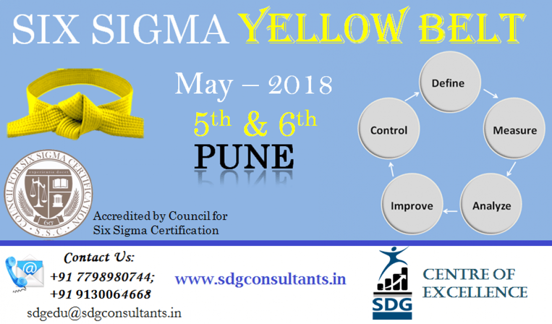 Lean Six Sigma Training Certification At Pune Pune