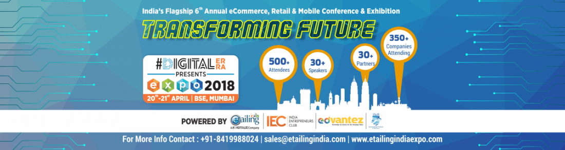 Etailing India Expo Mumbai 2018