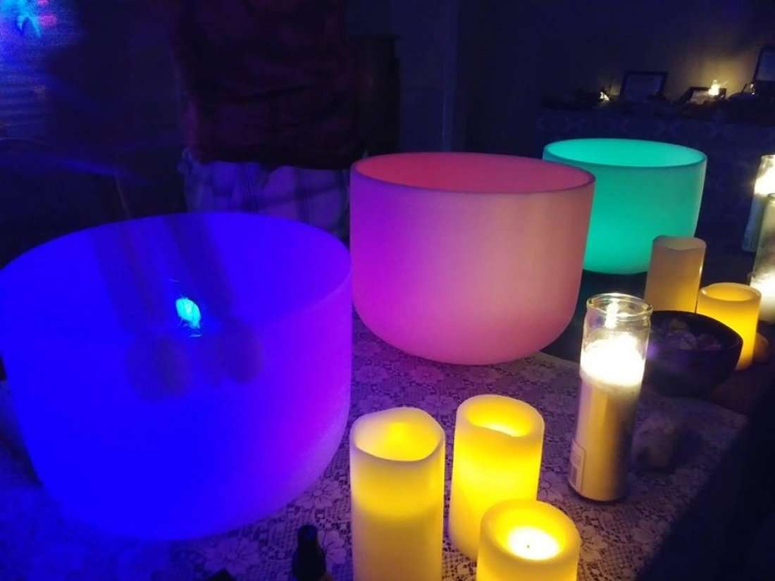 Revitalizing Monday Sound Bath Chaos To Calm Holistic Fair