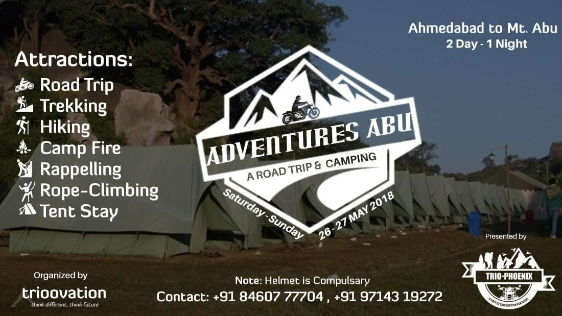 Adventures Abu - A Road Trip & Camping by Trio-Phoenix