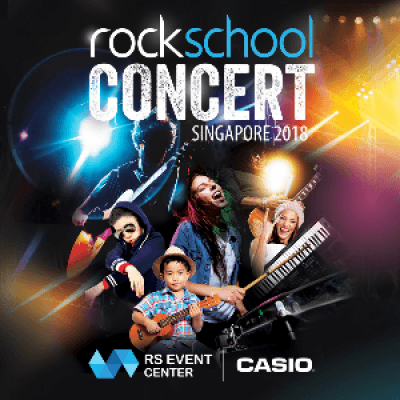 Rockschool Concert Singapore - 2018