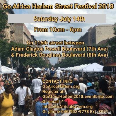 Go Africa Harlem 2018 Street Festival (7142018)