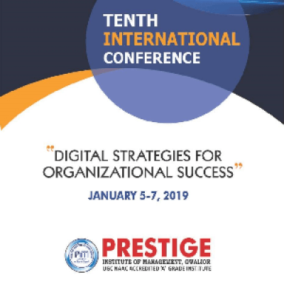 10th International Conference 2019 &quotDigital Strategies for Organizational Success&quot