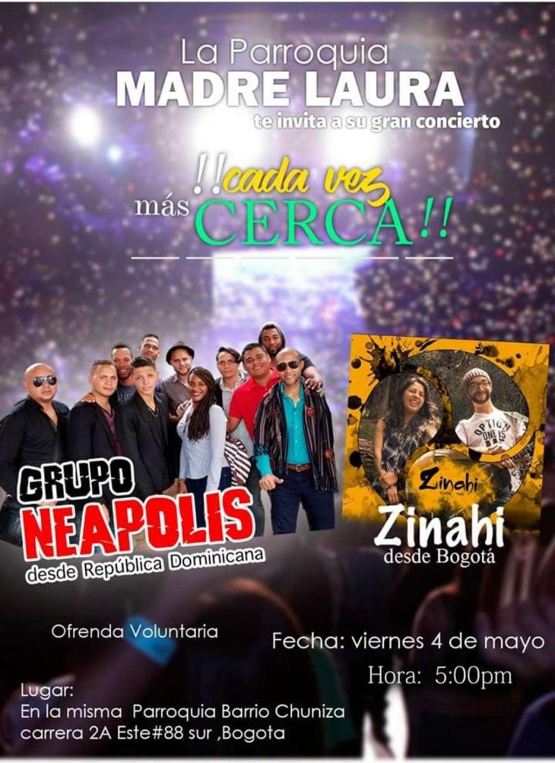 Concierto NEAPOLIS & ZINAHI