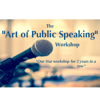 &quotThe Art of Public Speaking&quot Workshop - by Excellence First Leadership Academy