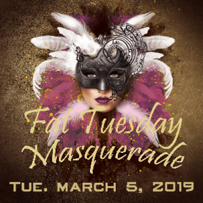 Fat Tuesday Masquerade 2019