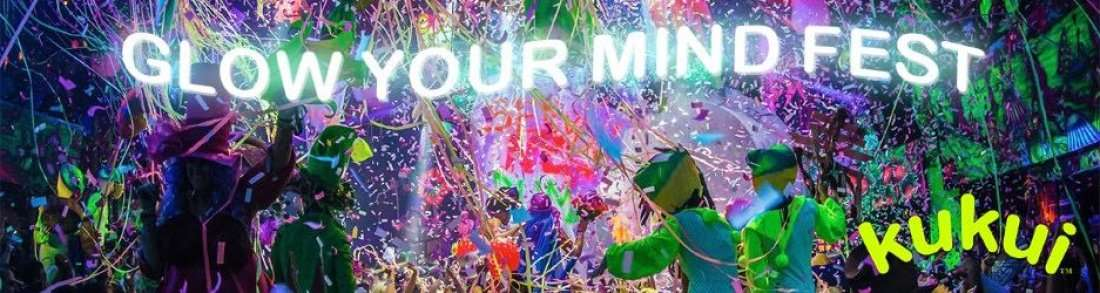 KuKui Glow Your Mind Fest - Baltimore MD