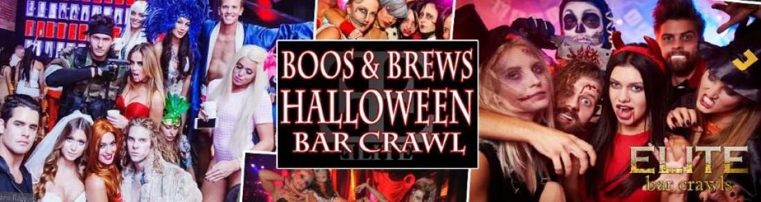 2018 Official Halloween Bar Crawl  Hartford CT