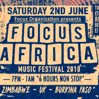 Focus Africa Music Festival 2018 Zimbabwe UK Burkina Faso