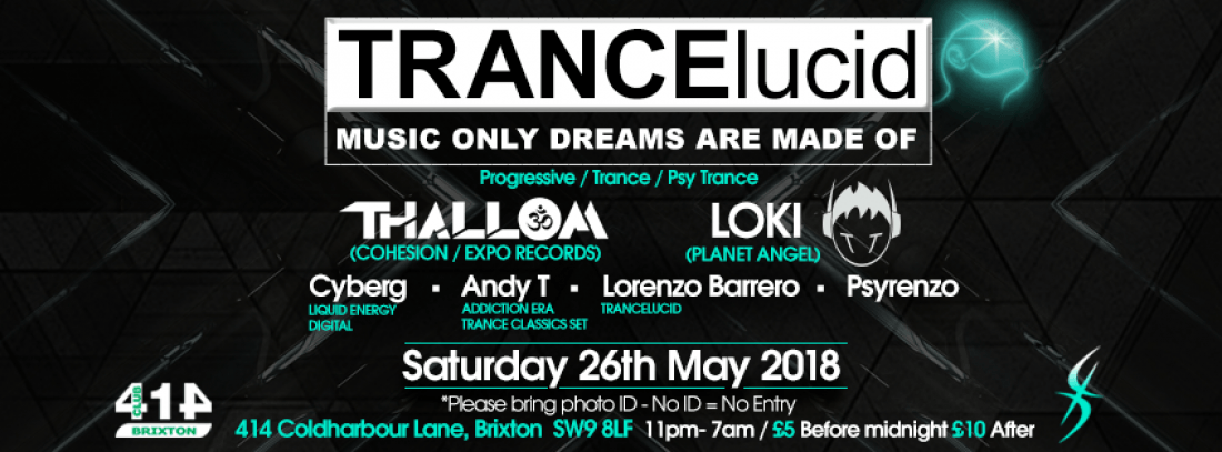 TRANCElucid - May Event
