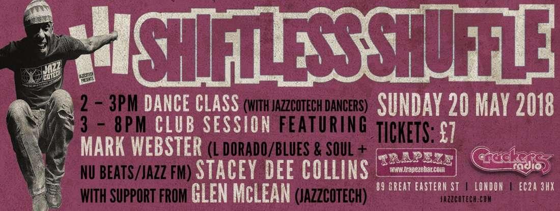 Shifless Shuffle dance floor Jazz class and Club