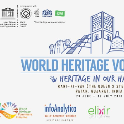 UNESCO WHV 2018  Lets Heritage at Rani-Ki-Vav Patan (INR Currency)