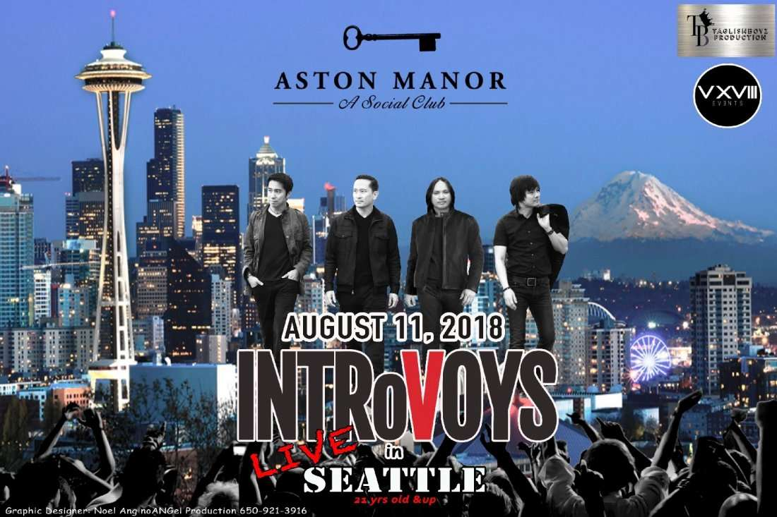 INTROVoYS LIVE IN SEATTLE
