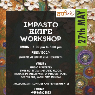 Impasto Knife Painting Workshop