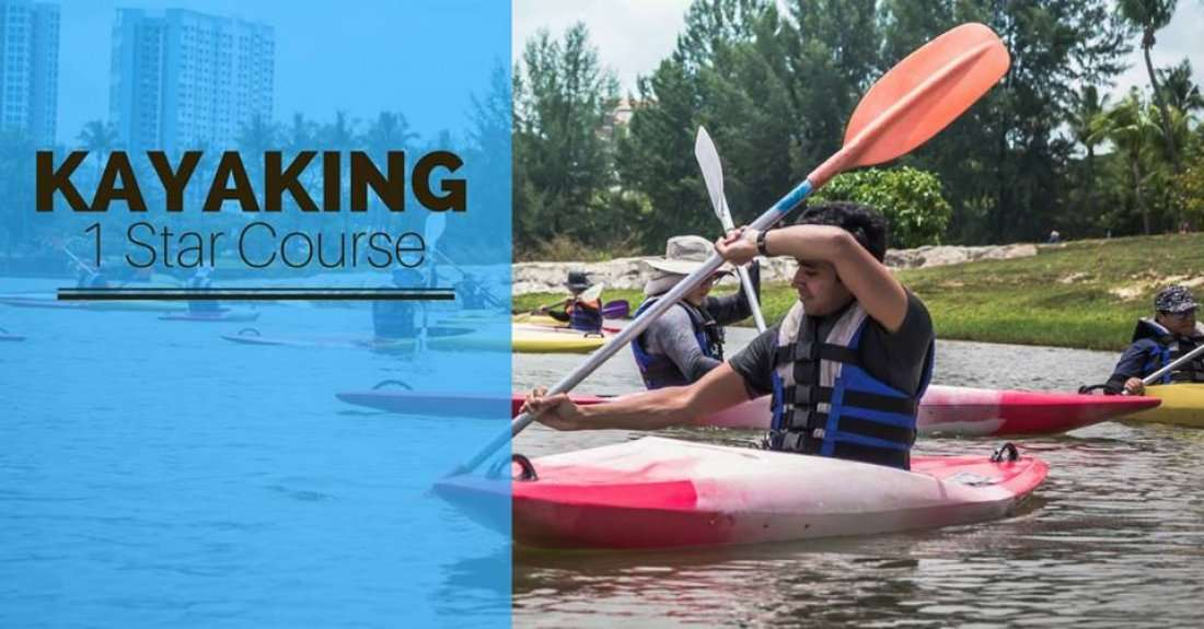 Kayaking 1 Star Course (Beginner friendly)